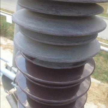 Очистка фарфоровых изоляторов